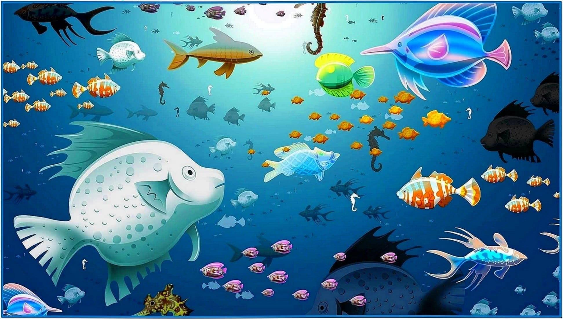 Finding Nemo Virtual Aquarium Screensaver