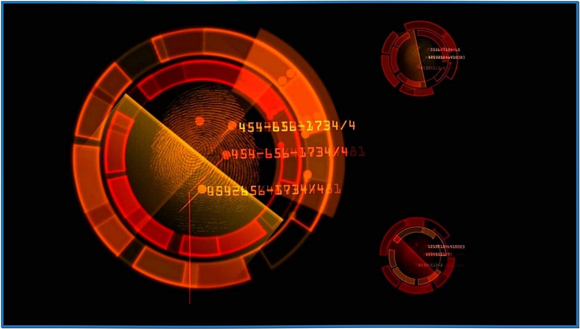 Fingerprint Screensaver
