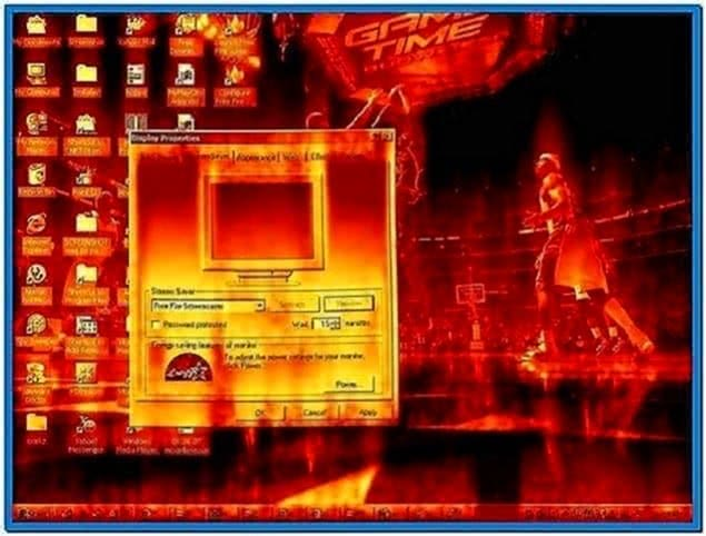 Fire Screensaver 2.20