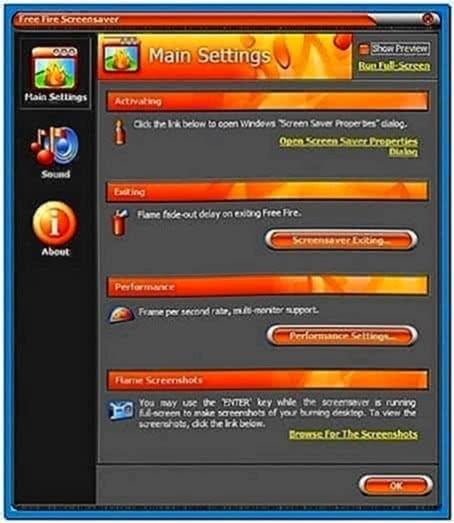 Fire Screensaver 2.20.019