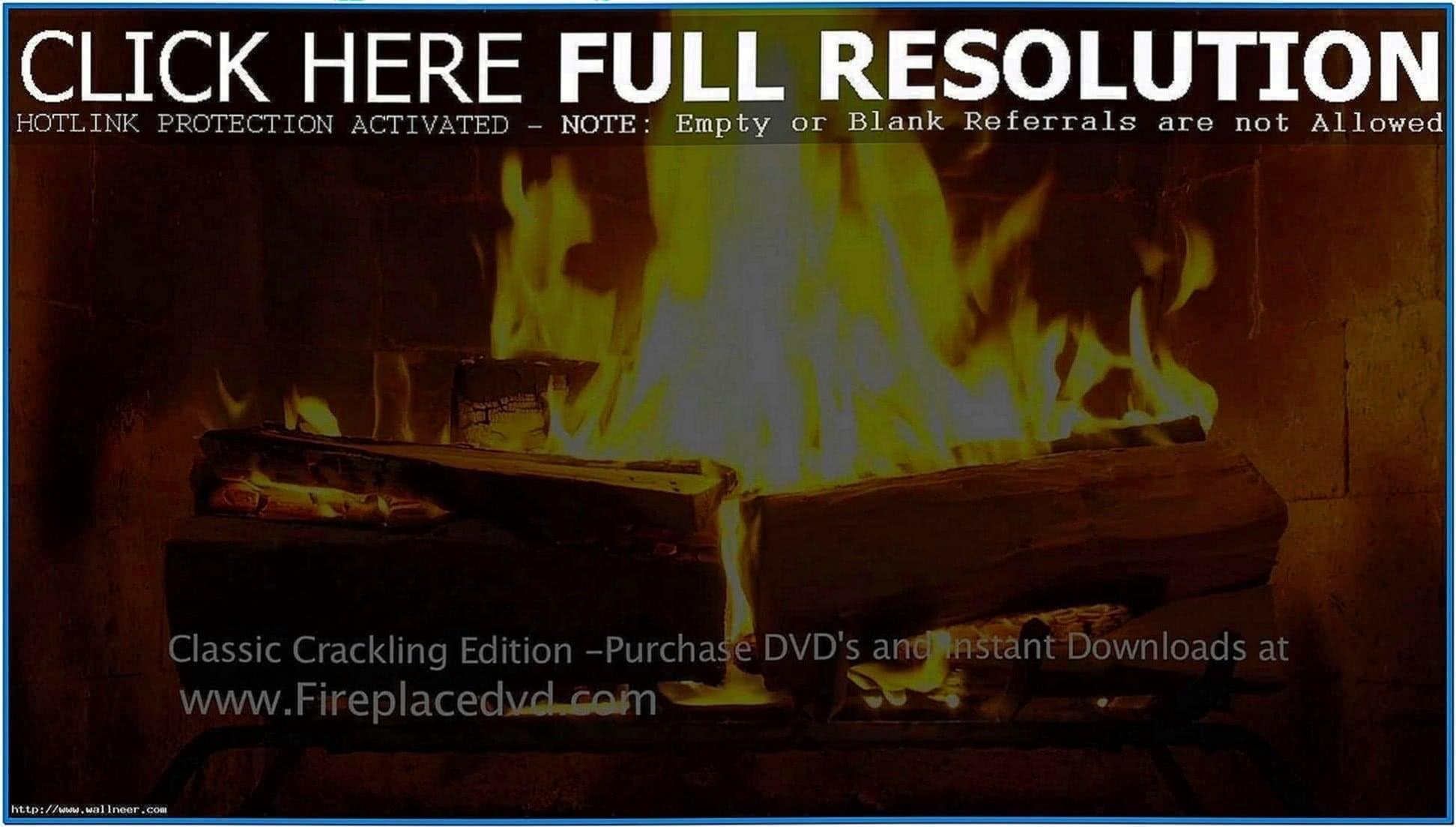 Fire Screensaver HD