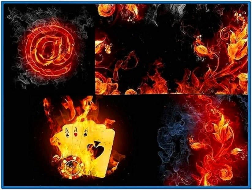 Fire Screensaver Windows 8