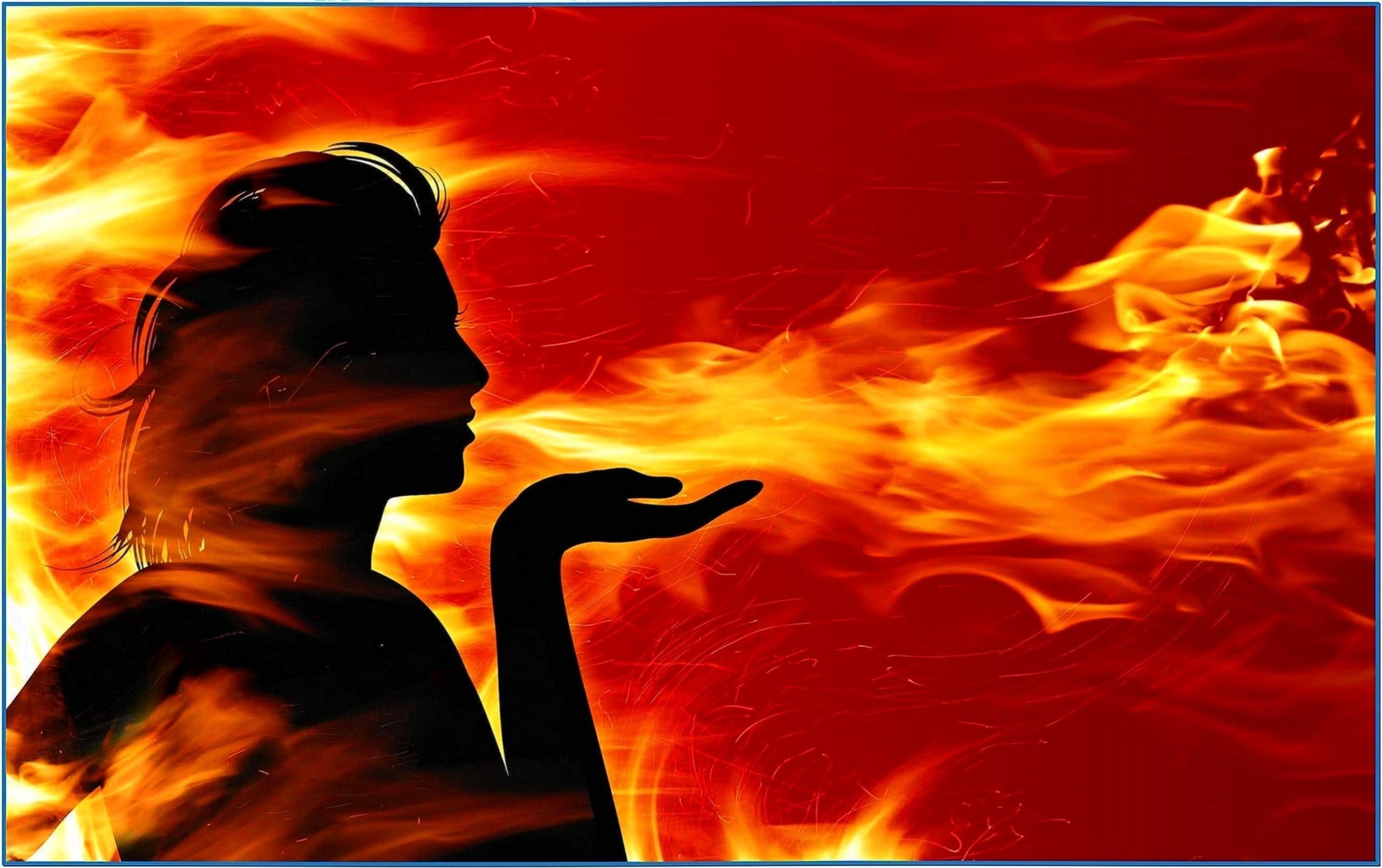 Fire Screensaver Windows Vista