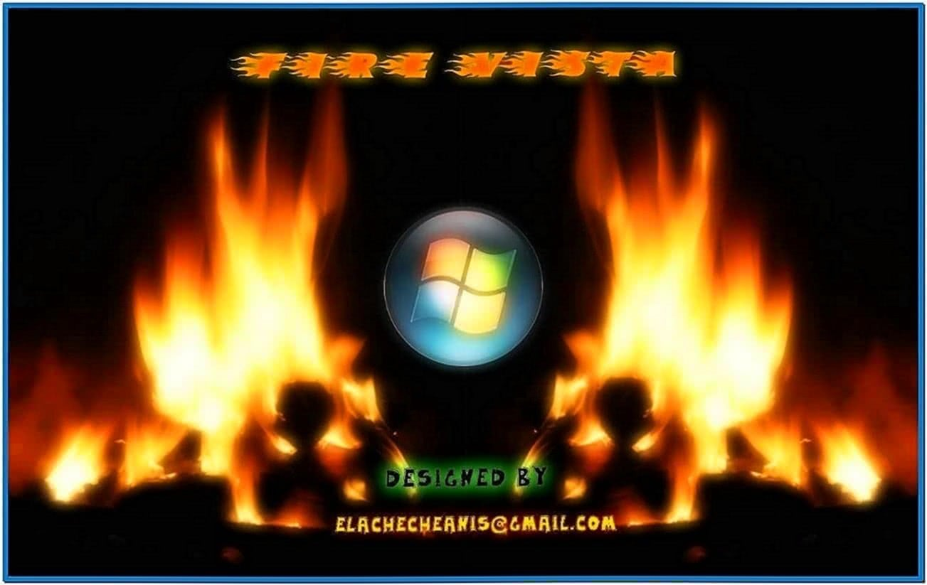 Fire Screensaver Windows Vista
