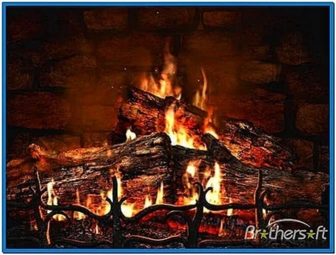 Fireplace 3D Screensaver 1.1
