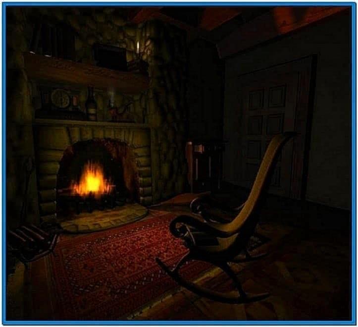 Fireplace Animated Screensavers Mac