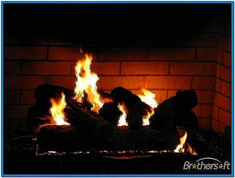 Fireplace computer screensaver Mac