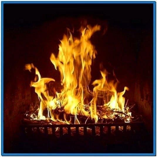 Fireplace Screensaver for iPad
