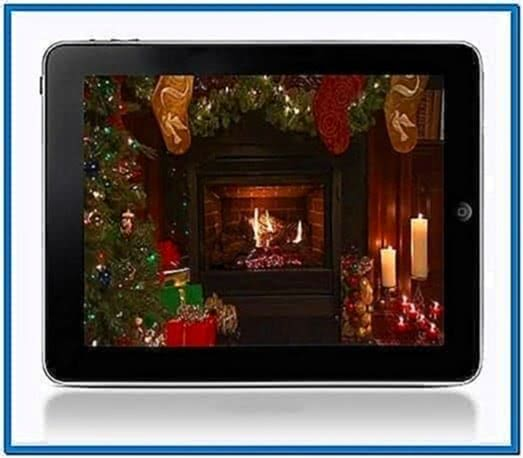 Fireplace Screensaver for iPad