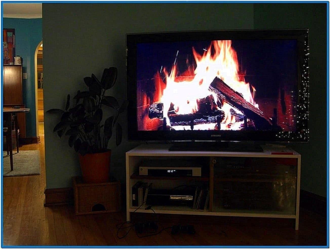 Fireplace Screensaver for Lg TV