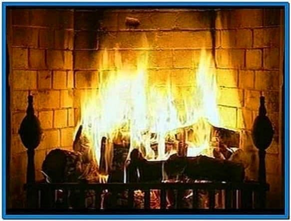 Fireplace Screensaver for PC