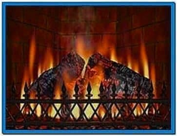 Fireplace Screensaver Plasma TV