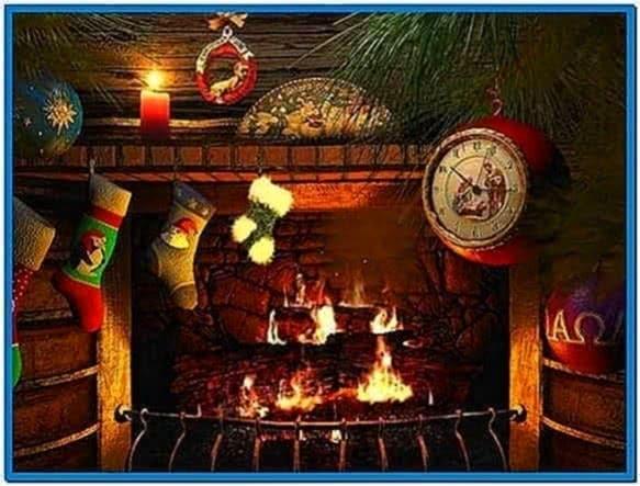 Fireside Christmas 3D Screensaver 1.0