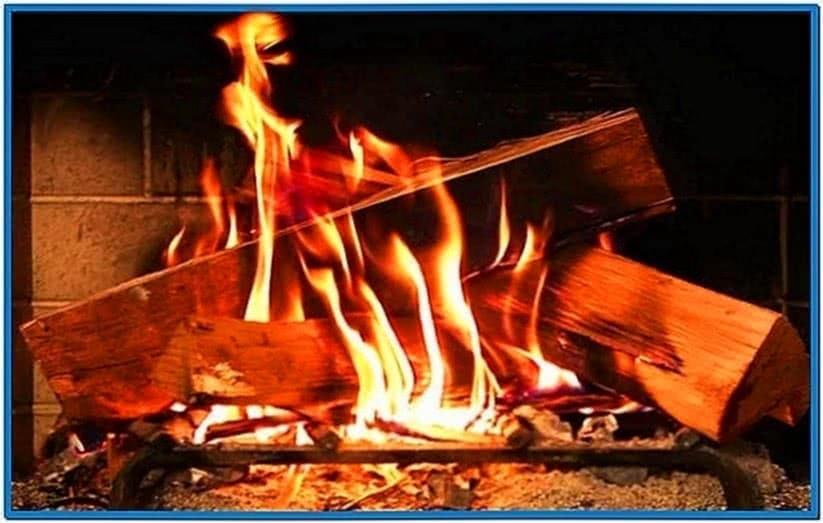 Fireside Screensaver Mac OS X 10.6