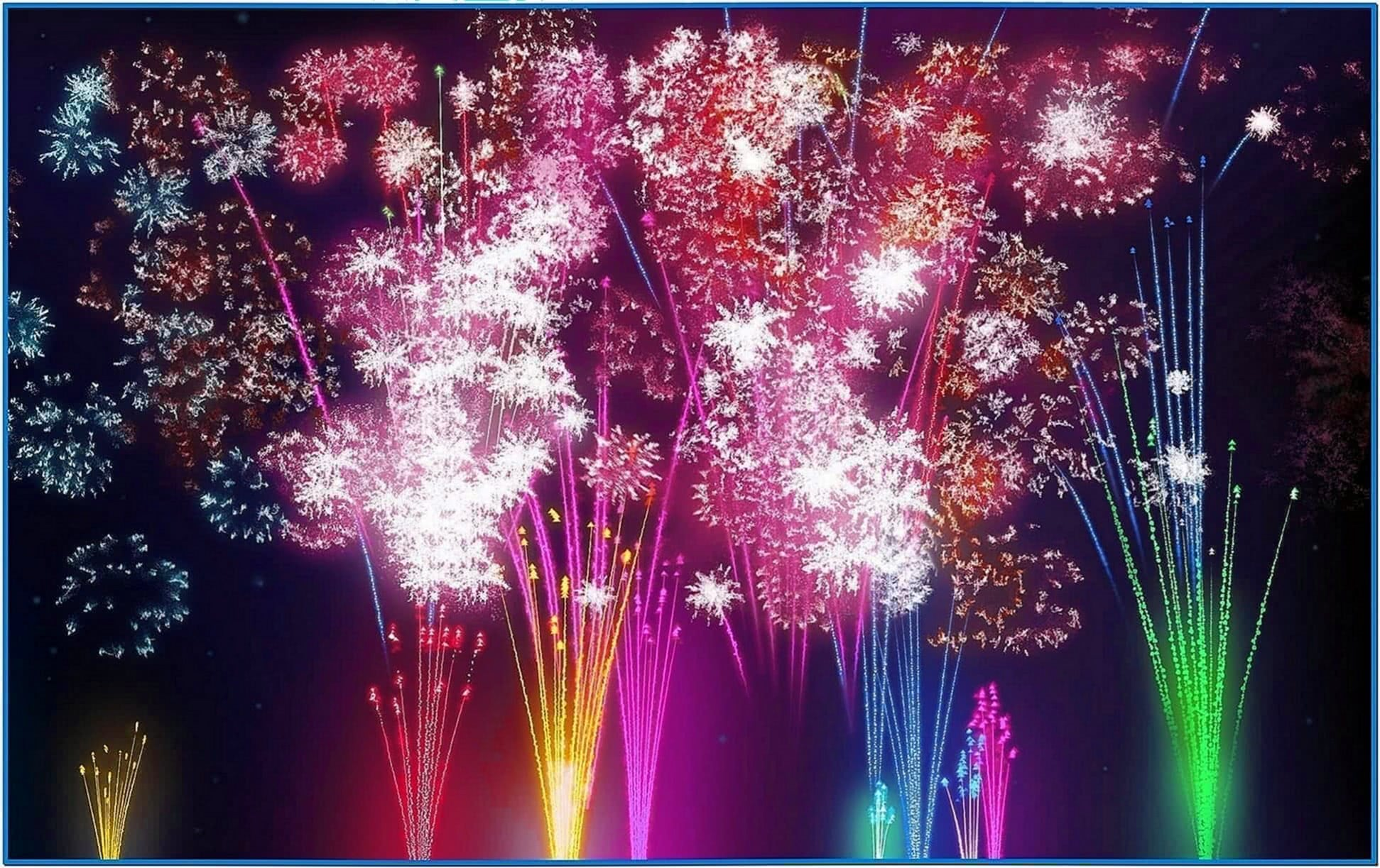 Fireworks Screensaver PC