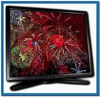 Fireworks Screensaver PC