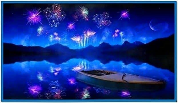Fireworks Screensaver Ubuntu