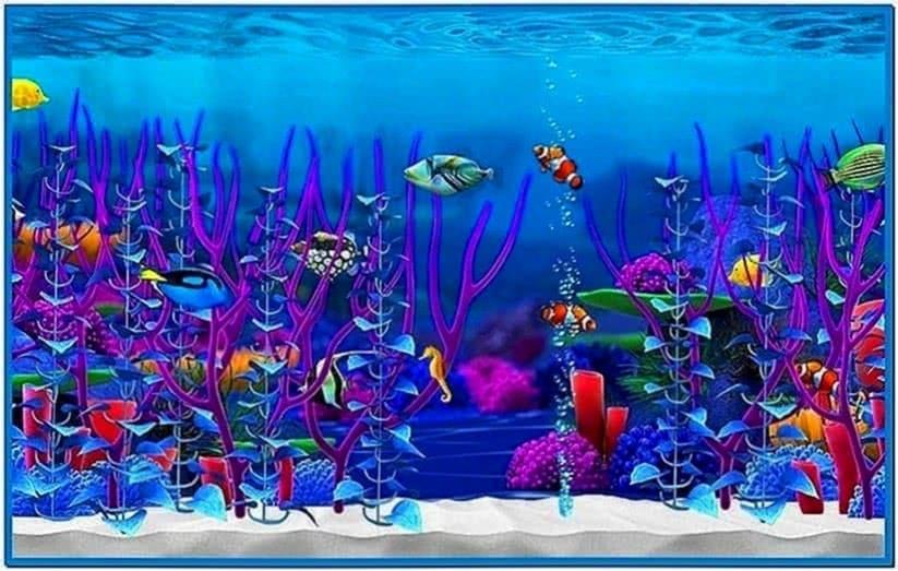 Fish Aquarium Screensaver Mac