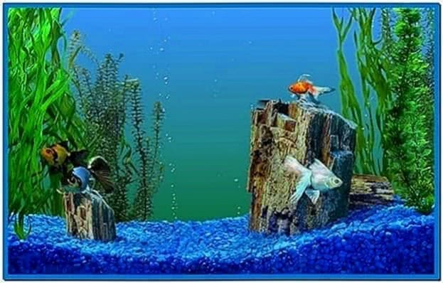 Fish screensaver Windows xp