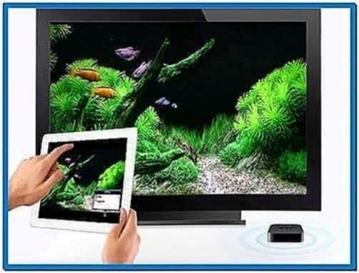 Fish Tank Screensaver Apple TV