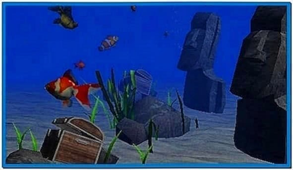 Fish Tank Screensaver for iPhone 4
