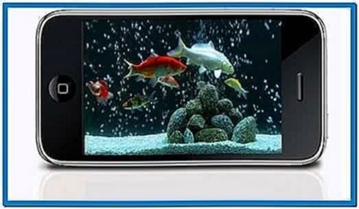 Fish Tank Screensaver for iPhone