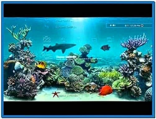 Fish Tank Screensaver for PS3