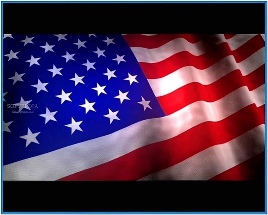 Flag 3D screensaver full