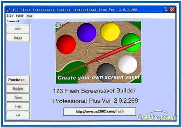 Flash 2 Screensaver 1.7