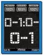 Flash Clock Screensaver for Nokia 6300