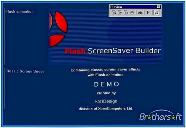 Flash screensaver builder 4.8