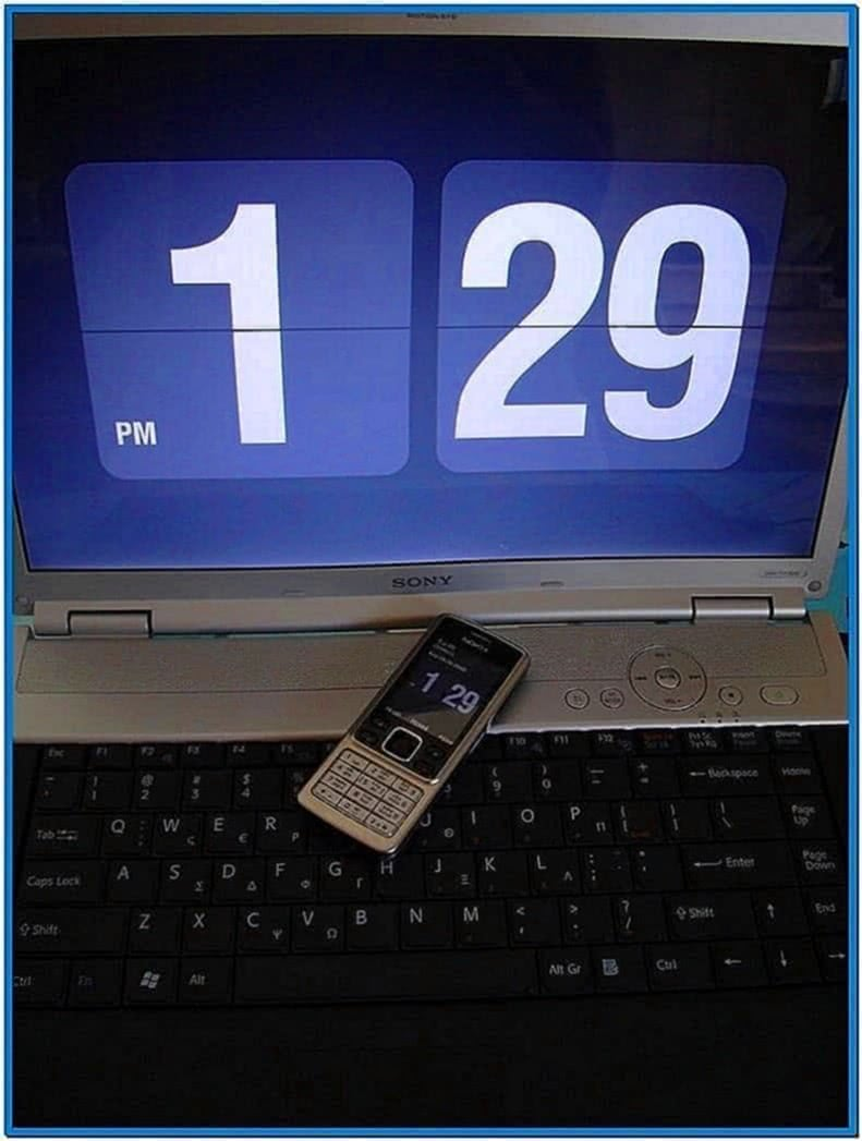 Flash Screensaver for Nokia 6300