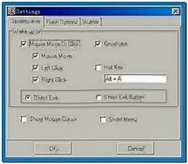 Flash Screensaver Maker Softboy