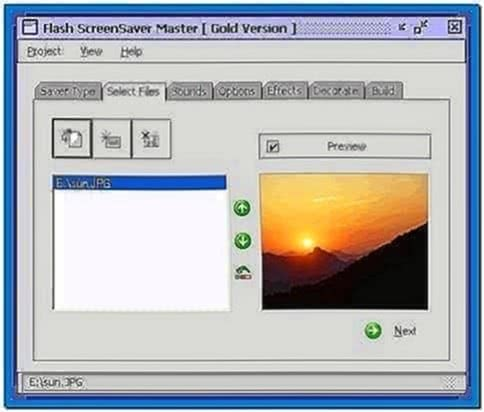 Flash Screensaver Master 3.2