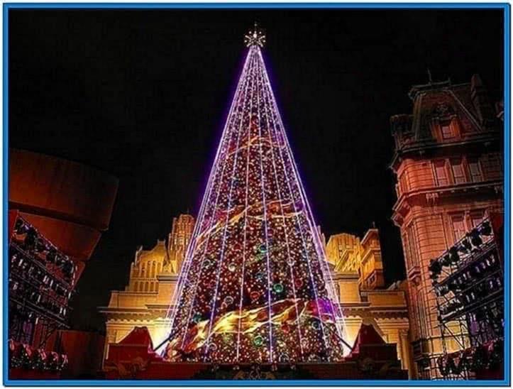 Flashing Christmas Lights Screensaver