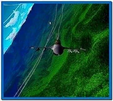 Flight Simulator Screensaver 1.1 Full