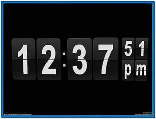 Flip Clock 3D Screensaver 1.03