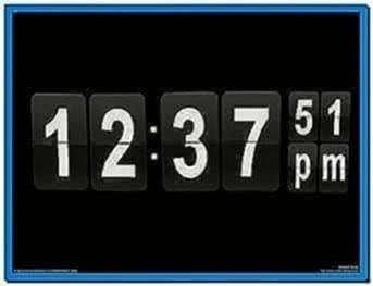 Flip Clock Screensaver for PC