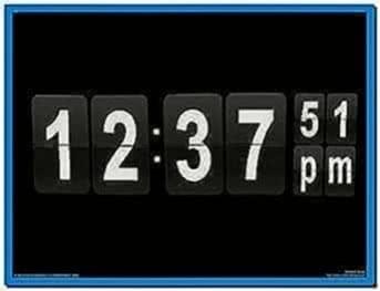Flip clock screensaver for PC