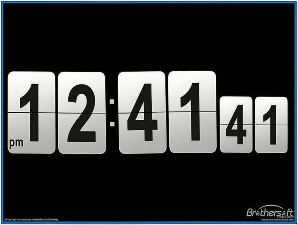 Flip Clock Screensaver