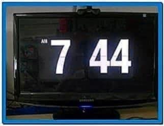 Flip Clock Screensaver Windows XP