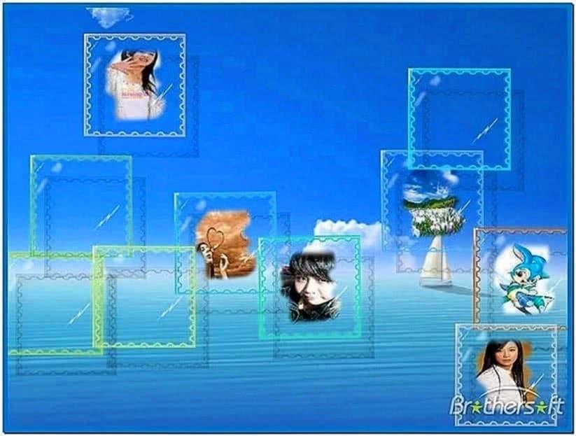 Flow Bubbles Screensaver 3.26
