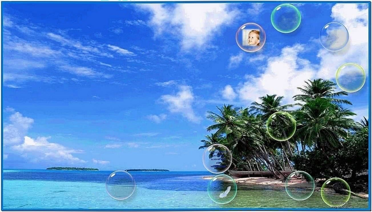Flow Bubbles Screensaver