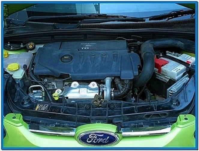Ford Diesel Engine Screensaver