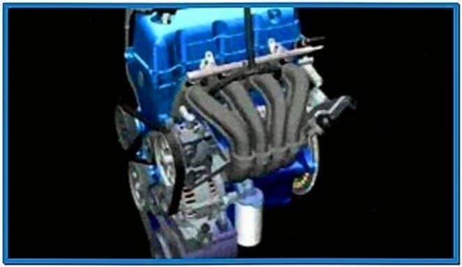 Ford Engine Assembly Screensaver