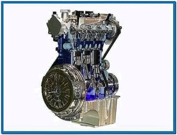 Ford Engine Build Screensaver