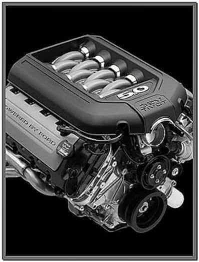 Ford Engine Screensaver