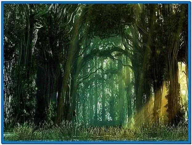 Forest Screensaver Windows 7