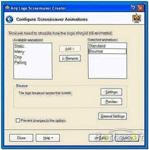 Freeware Logo Screensaver Creator