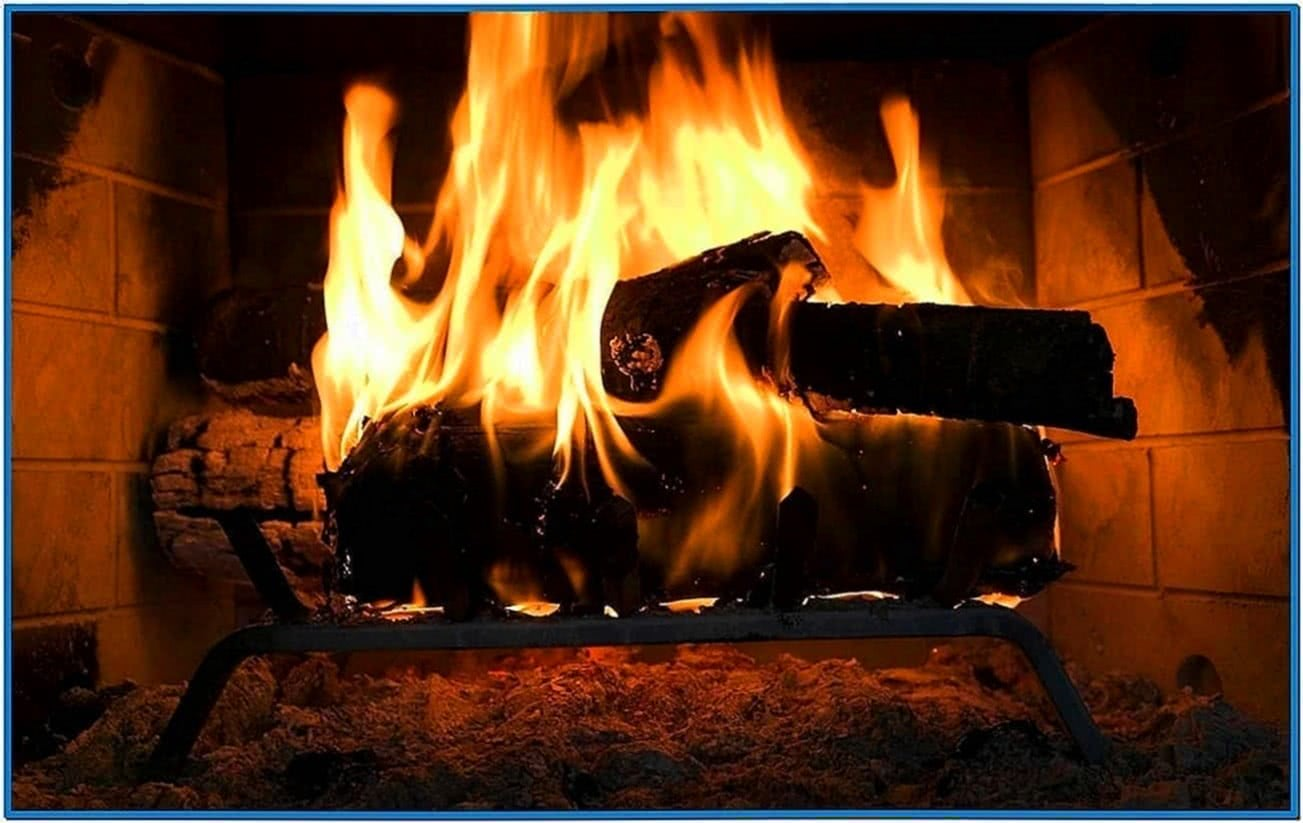 Full Hd Fireplace Screensaver Download Free